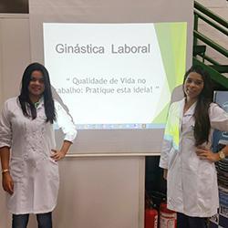 Transportadora Esmeralda promove Ginástica Laboral aos colaboradores com Fisioterapeutas