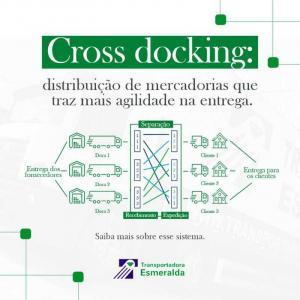 Cross docking terminal