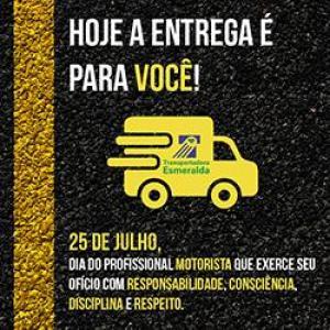 25 de Julho, dia do Motorista